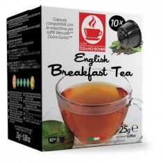 Capsule Ceai Negru Bonini - Compatibile Dolce Gusto® 10 buc