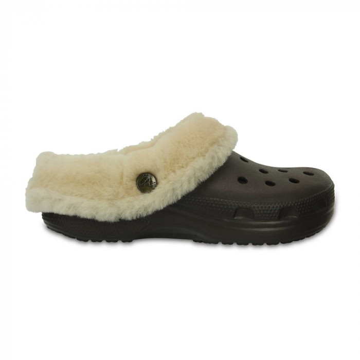 Saboți Adulti Unisex casual Crocs Classic Mammoth Luxe Lined Clog