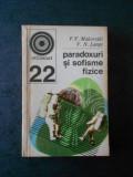 P. V. MAKOVETKI - PARADOXURI SI SOFISME FIZICE