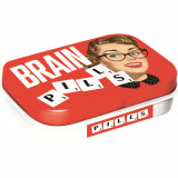 Cutie metalica cu bomboane - Brain Pills