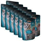 Cumpara ieftin Pliculeț pentru pisicuți Leonardo Kitten, 12 x 85 g