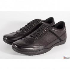 Pantofi office negri de barbati/barbatesti (cod 2285)