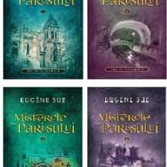 Misterele Parisului. Vol.1-4 - Eugene Sue
