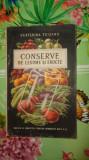 Conserve de legume si fructe an 1954/116pagini- Ecaterina Teisanu