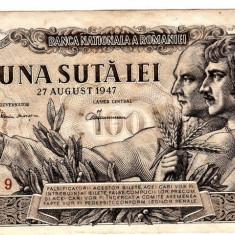 Bancnota 100 lei 1947  27 august (1)