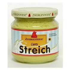 Pate Bio Vegetal cu Curry Zwergenwiese 180gr Cod: zw257