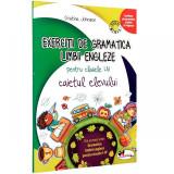 Exercitii de gramatica limbii engleze, caiet pentru clasele I-IV