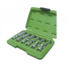Set 6 chei tubulare articulate pentru bujii, JBM JB-52691, 8-16 mm