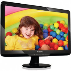 OFERTA! Monitor Philips 23 Inch Full HD 1920 x 1080 DVI VGA Grad A