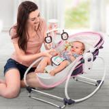 Balansoar pentru bebelusi 5 in 1 Ava Purple, Moni