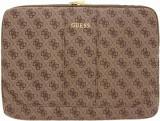 Cumpara ieftin Husa Originala Guess Sleeve Leather Compatibila Cu Laptop/macbook Pro/air 13inch, Maro