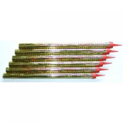 Set de 6 Artificii tort 30 cm durata de ardere 90 secunde