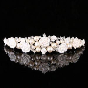 Diadema / Tiara mireasa Ivory Rose