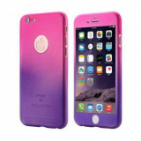 Husa MyStyle FullBody Degrade pentru Apple iPhone 6 Plus / Apple iPhone 6S Plus cu folie de protectie gratis