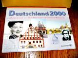 A165-Album monedele germane UNC 2000 colectie numismatica a monedelor RFG.