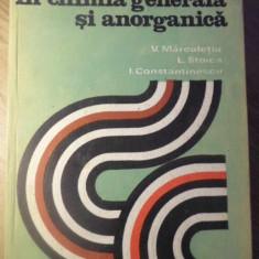 APLICATII DE CALCUL IN CHIMIA GENERALA SI ANORGANICA - V. MARCULETIU, L. STOICA,