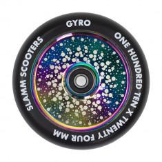 Roata trotineta Slamm 110mm Gyro Hollow Core Neochrome + Abec 9