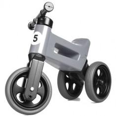 Tricicleta fara Pedale Rider Sport 2 in 1 Gri