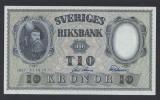 A5135 Sweden Suedia 10 kronor 1957 SEMNATURI DIFERITE UNC