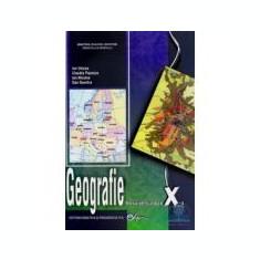Manual Geografie pentru clasa a X-a