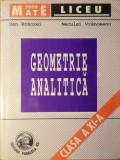 GEOMETRIE ANALITICA CLASA A XI-A - DAN BRANZEI, NECULAI VRANCEANU