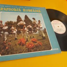 VINIL RAPSODIA ROMANA THE ROMANIAN FOLK MUSIC ENSEMBLE EPE0752 DISC STARE EX