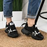 Pantofi Sport De Dama Maian Negri 36 EU Negru
