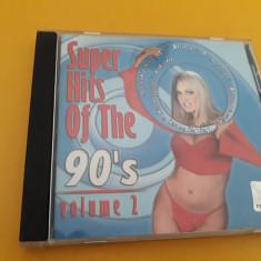 CD VARIOUS SUPER HITS OF THE 90's VOL 2 ORIGINAL