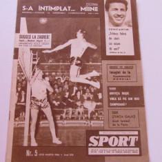 Revista SPORT-nr.5/03.1966