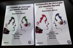 Compendiu de chirurgie Oro-maxilo-faciala de Al. Bucur Vol.1 + Vol.2 foto