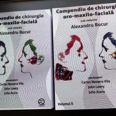 Compendiu de chirurgie Oro-maxilo-faciala de Al. Bucur Vol.1 + Vol.2