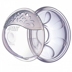 Set 6 piese protectii pentru mameloane Philips Avent SCF157/02, Transparent