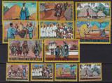 Guineea  1968  dansuri  costume populare  MI 458-469.   MNH w68