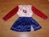 costum carnaval serbare majoreta pentru copii de 7-8 ani