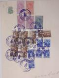 K4 Coala fiscala 100 lei verde 1938, Stampilat