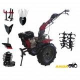 Motocultor Wm 1100D 9 Hp+Roti Metalice+Plug Arat+Rarita Prasitoare+Plug Cartofi