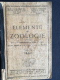 Elemente de zoologie pentru clasa a IV-a secundara si scoli speciale- Alex Sanielevici, Coralia Vernescu