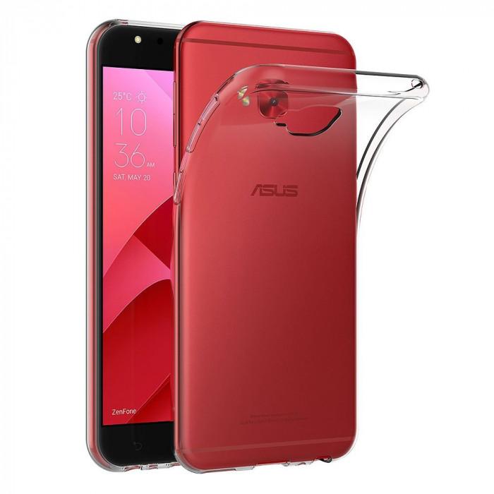 Husa ASUS ZenFone 4 Selfie Pro ZD552KL - Silicon Armor (Transparent) LIVON