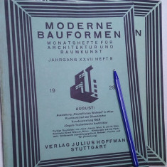 un lot de 2 carte veche arhitectura anii 20