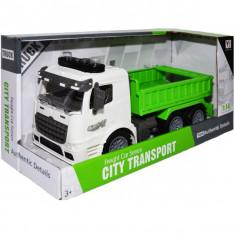 Camion cu sunete si lumini City Transport