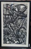 "Marcel Chirnoaga (1930-2008) - ""La dans"" , gravura"
