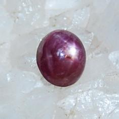 rubin stelat 100% natural ideal pentru montura inel !! 2