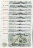 Cumpara ieftin Bulgaria 100 Leva 1951 (Lot 10 bucati -serii consecutive 229749/58) P-86 UNC !!!