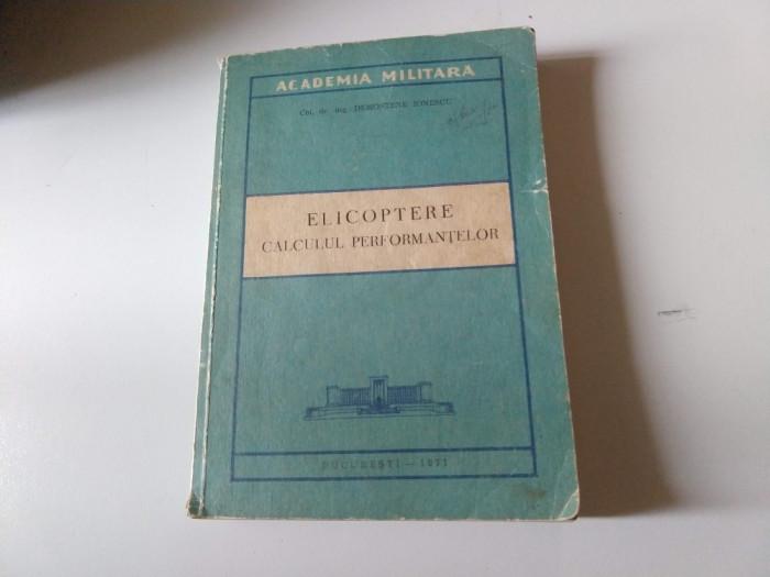 Elicoptere - Calculul performantelor - Demostene Ionescu