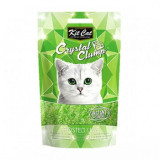 Asternut Igienic Pentru Pisici Kit Cat Crystal Clump Frosted Lyme, 4 L