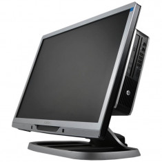 Sistem All in One HP 8200 Elite USFF, i7-2600, Philips 220B 22 inch