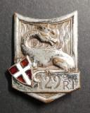 Insigna Regimentala Regiment 129 Infanterie Franța Drago G 429