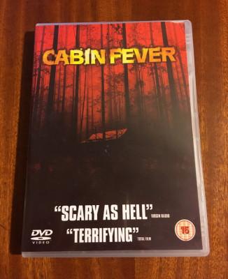Cabin fever (1 DVD original film de groaza horror - Ca nou!) foto
