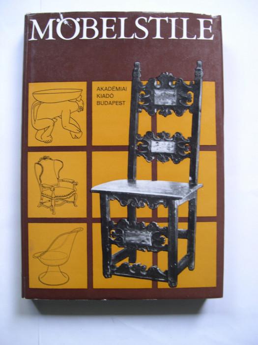 Stiluri  de  mobila  (mobilier).  Aproape  1000  desene  si  grafici
