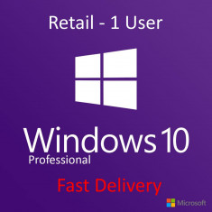 Windows 10 Pro 32/64 Bit Licenta (Retail Key)